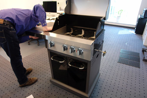 Jamie Oliver Gasgrill Home Test : Unboxing aufbau des jamie oliver pro « gasgrills u a gasgrill