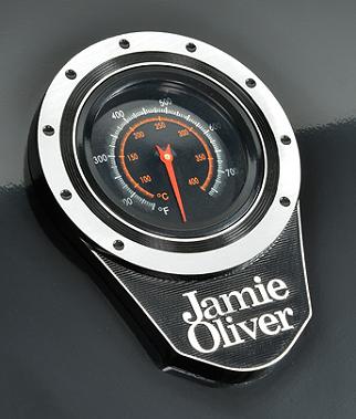 Deckelthermometer eines Gasgrills von Jamie Oliver