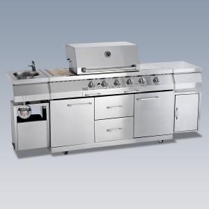 Outdoorküche - Design-Gastgrill »Rochester«