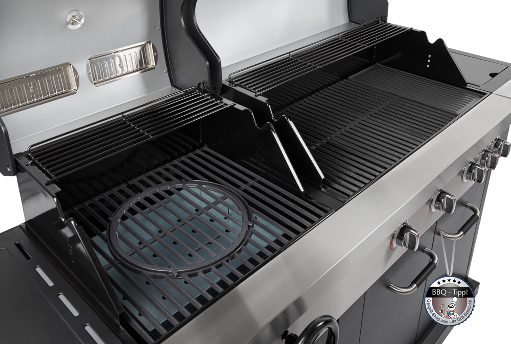 Jamie Oliver Gasgrill Home Test : Jamie oliver gas & kohlegrill »dual fuel«