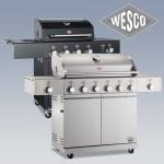 Design-Gasgrills von Wesco