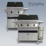 Design-Gasgrills von Schickling